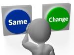 same change button by Stuart Miles
